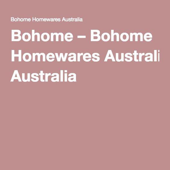 Bohome – Bohome Homewares Australia