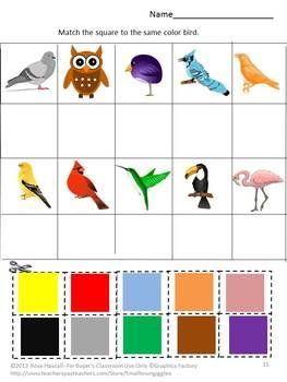math worksheet : autism cut and paste summer packet preschool kindergarten  cut  : Color Cut And Paste Worksheets For Kindergarten