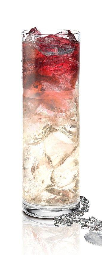 Park Avenue Princess ♥✤ 1.5 oz. SKYY Infusions Grape, 3 oz. 7-Up, 0.25 oz. Fresh Lemon Juice, 0.25 oz. La Vieille Ferme Red Wine
