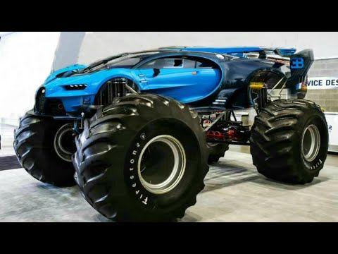 Populari Videoklipi Bugatti Vision Gran Turismo Youtube Bugatti Monster Trucks Monster Car