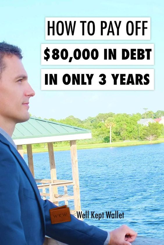 How to Pay Off $80,000 in Debt in Only 3 Years