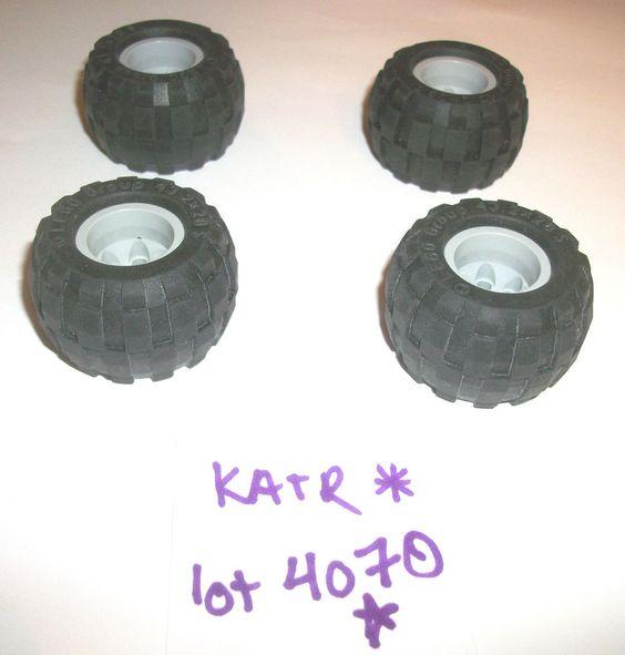 Balloon Wheels Tires 6580 Technic Mindstorms NXT EV3 Robotics  6579 43.2 x 28  #lego