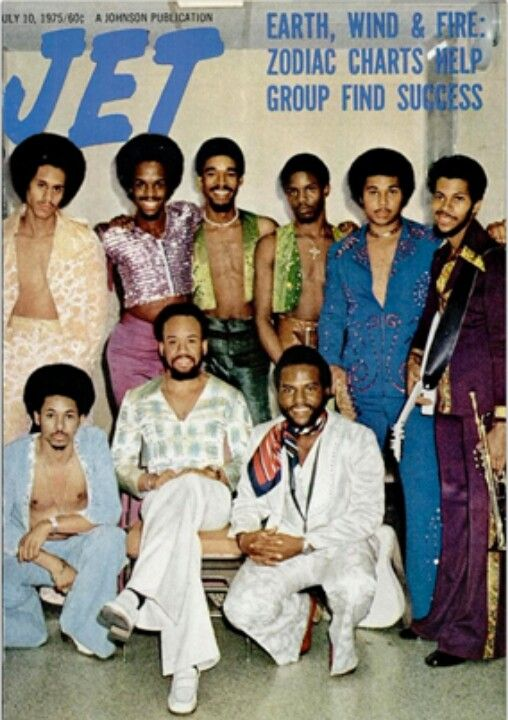 Earth, Wind and Fire, Jet Magazine...1975