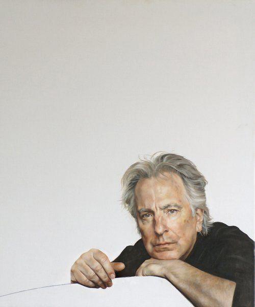 alan rickman by raoul martinez