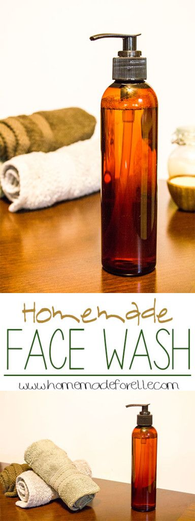 Find a homemade face wash that's perfect for your skin!