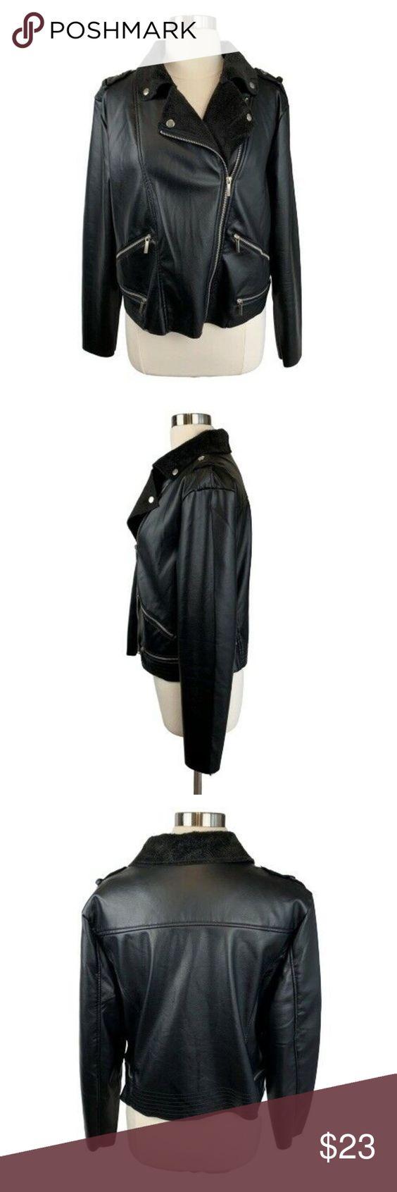 Yoki Outerwear Collection Faux Leather Jacket Faux Leather Jackets Cropped Faux Leather Jacket Leather Jacket [ 1692 x 564 Pixel ]