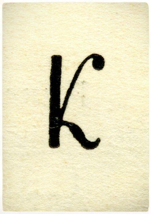 Une belle typo, imprimée en typographie sur un beau papier texturé. La simplicité peut être tellement efficace...