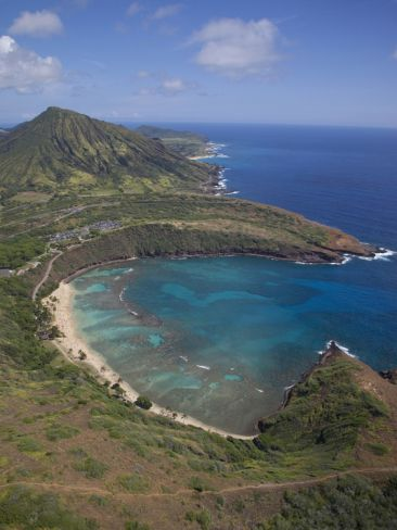 Hanauma bay oahu hawaii beautiful islands and cruise for Fishing spots oahu