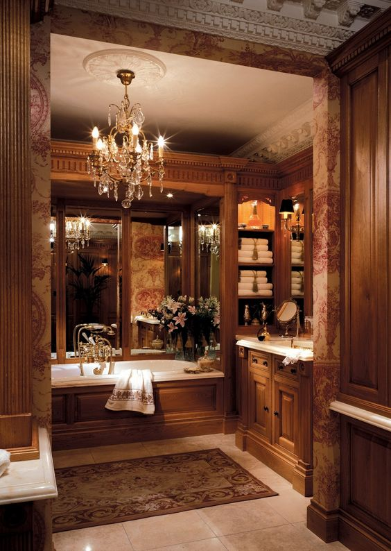 House Beautiful Bathrooms: Clive Christian Victorian Bathroom