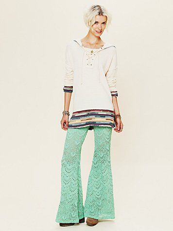 I think I'm just obsessed with this color!  Love these pants! @Free People
