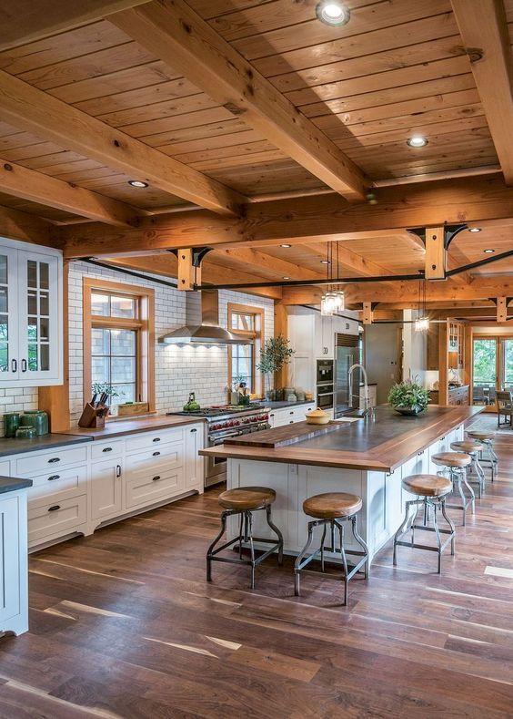 30 Create Wonderful Kitchen Island Design Ideas With Seating