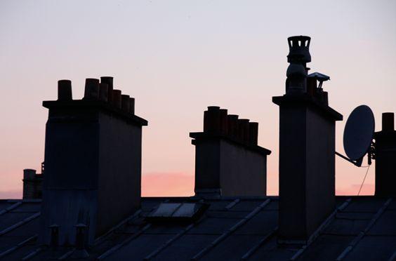 Chimneys in Paris
