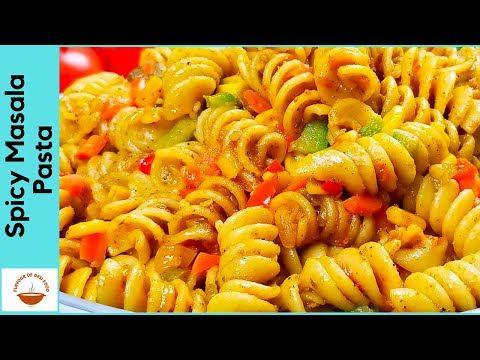 Spicy Masala Pasta Indian Style Veg Pasta Recipe Quick Easy Flavour Of In 2020 Pasta Recipes Vegetarian Indian Pasta Recipes Indian Pasta Indian Style Recipe