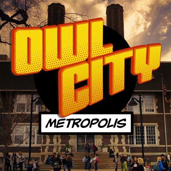 Owl City – Metropolis (single cover art)
