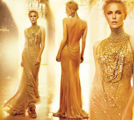 Image result for j'adore gold dress