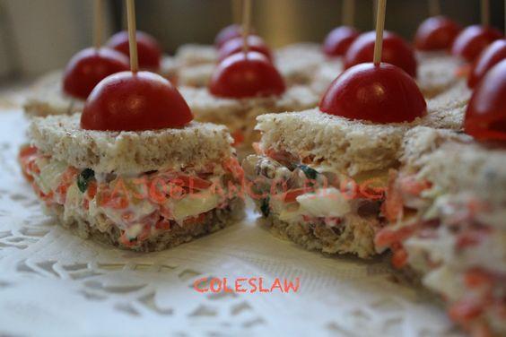 Sandwichs de Coleslaw