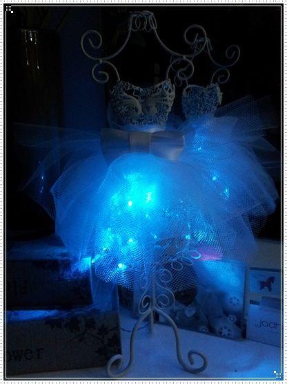 mini mannequin led Nali : diy
