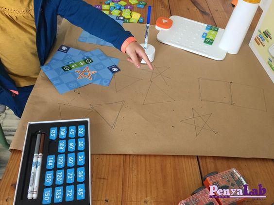Matatabot dibuixa figures geomètriques