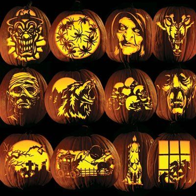 Pumpkin Carving Patterns here's you ideas Phillip since your an expert