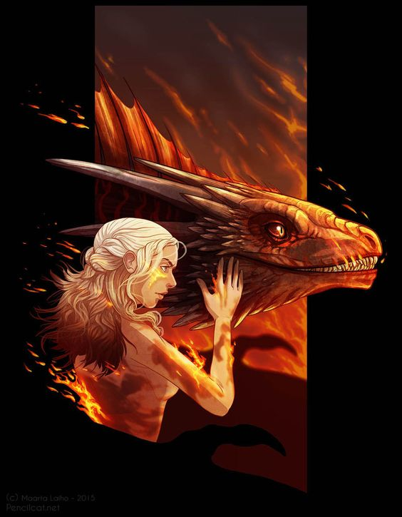 Fire Cannot Kill A Dragon by AbelPhee.deviantart.com on @DeviantArt