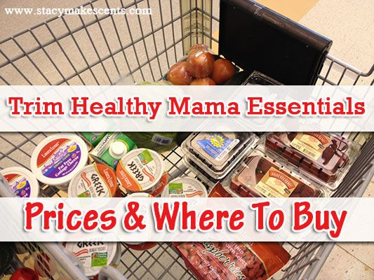 "Trim Healthy Mama ""Essentials"" And Where I Buy Them...helpful! Not all stores in my area, but a good breakdown of some of the items you might not be sure how to find."