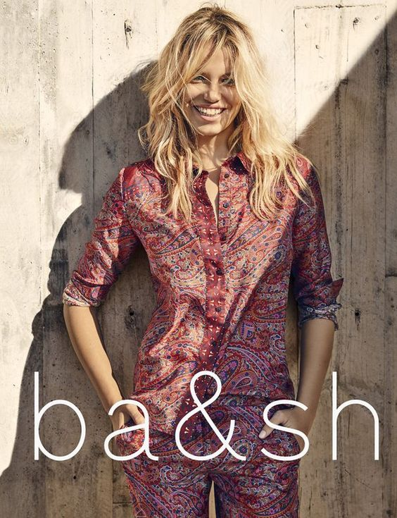 ba&sh campaign spring summer 2016 with Hailey Clauson by Fred Meylan