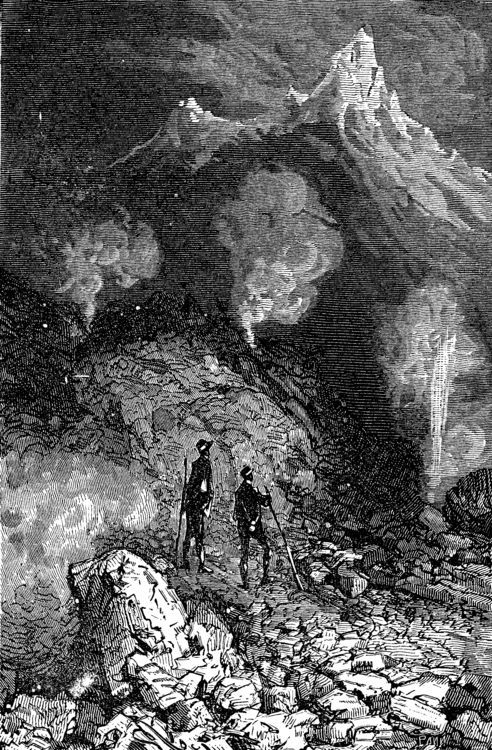 Jules Verne Journey To The Center Of The Earth Map