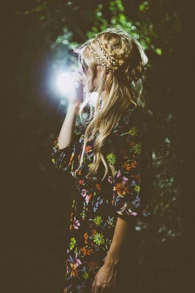 #fashion #style #floral #braid