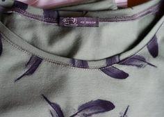 Schnelles Halsbündchen ohne Bündchenstoff! | BERNINA BLOG | Bloglovin'