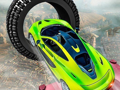 لعبة سباق السيارة المثيرة المجنونة Crazy Car Racing Stunts 2019 In 2020 Weird Cars Race Cars Car