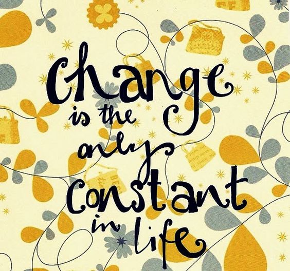 quote about change in life