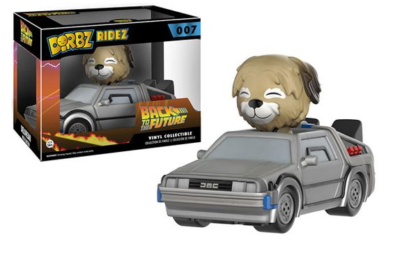 Funko releasing Delorean Dorbz Ridez from Back to the Future