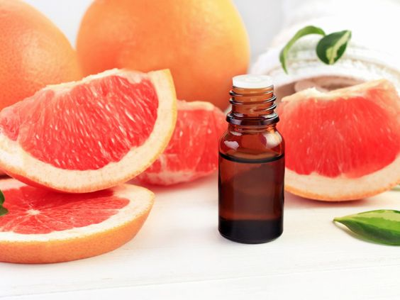 Grapefruit essential oil may offer a variety of health benefits — including reduced blood pressure and stress levels. Here are 6 benefits and uses of grapefruit essential oil.