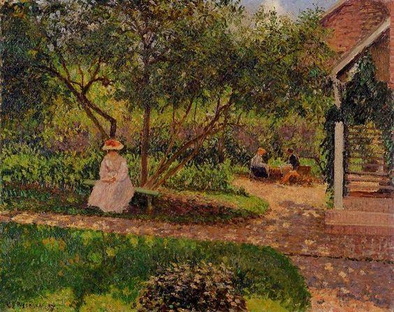Camille Pissarro - Corner of the Garden in Eragny