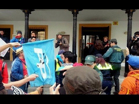 Altercado con la alcaldesa de Perales de Tajuña #22M