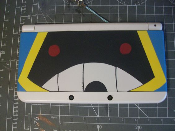 I made my own N3DS Cover Plates for my favourite Pokémon