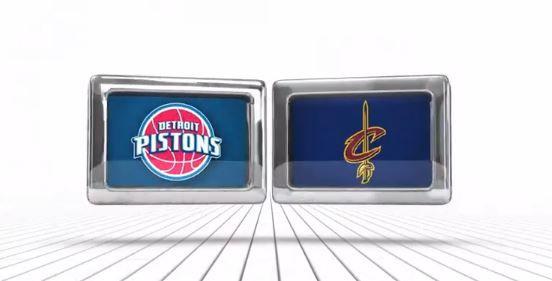 #NBAPlayoffs Detroit Pistons Vs Cleveland Cavaliers (Game 1)