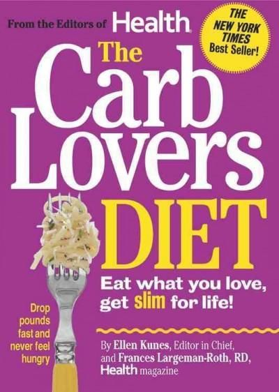 The editors of Health Magazine (and top nutrition scientists) have big news: Eating carbs is the best way to get and stay slim. Breakthrough research revealed in this book shows how certain carb-rich
