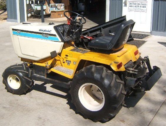 Cub Cadet 169 Garden Tractor : Pinterest the world s catalog of ideas