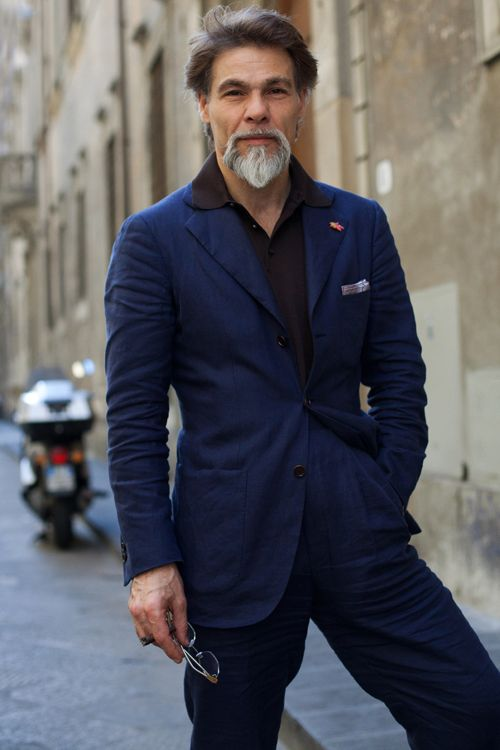 mr. simone righi of italy....just realized i need a royal blue