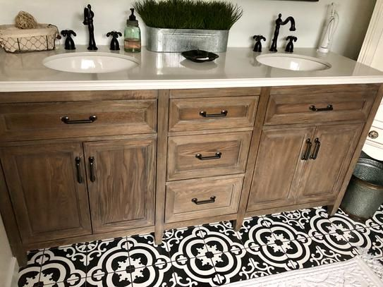 Home Decorators Collection Walden 71 In W X 22 In D Double Bath Vanity In Driftwood Grey With Engineered Stone Vanity Top In Crystal White Wlggvt7122d The H Engineered Stone
