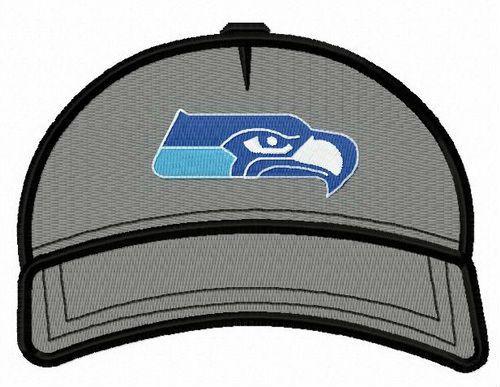 Seattle Seahawks Baseball Cap Embroidery Design Machine Embroidery Designs Embroidery Designs Baseball Cap