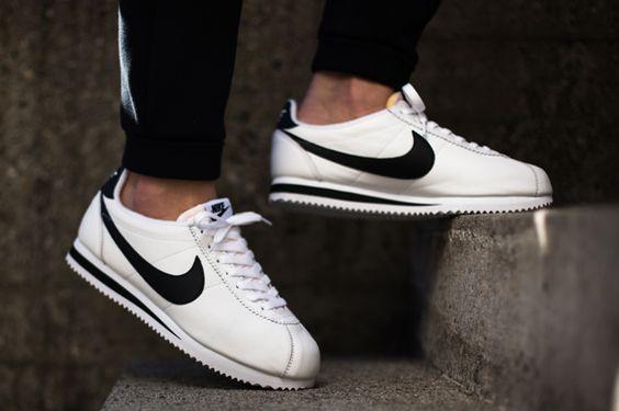 White And Black Nike Cortez November 2017