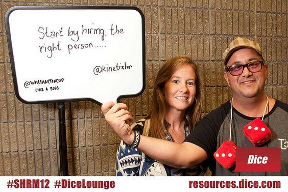 DiceLounge Define clear expectations! via @kjoneskc #SHRM12 - dice resume