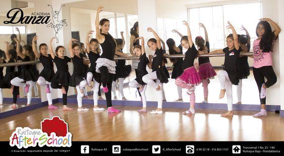 Academia de Danza - Sábados (Intensivo) Más información:  - Teléfonos: 6903218 - 3168531157 - Facebook. /RuitoqueAS - Correo: ruitoqueafterschool@gmail.com - Instagram: ruitoqueafterschool