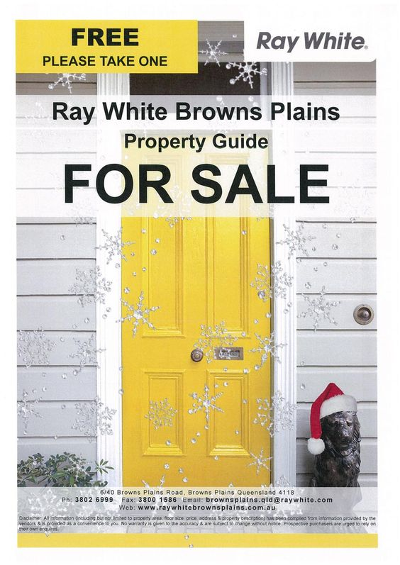 Property Guide (26 Nov 2016)  List of Properties for Sale with Ray White Browns Plains