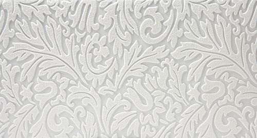 white textured wallpaper for accent wall in the master bedroom