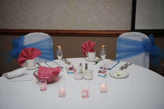 The Bride & Groom's Sweetheart Table