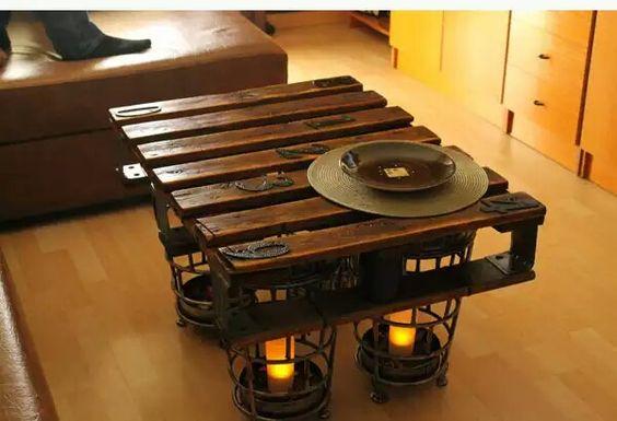 Original mesa de salon