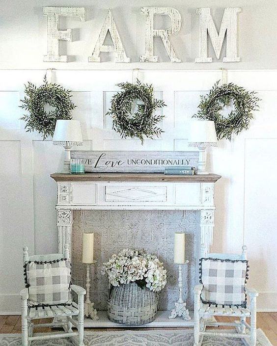 How To Decorate With Fireplace Mantels Faux Fireplace Faux Fireplace Diy Fireplace Mantels